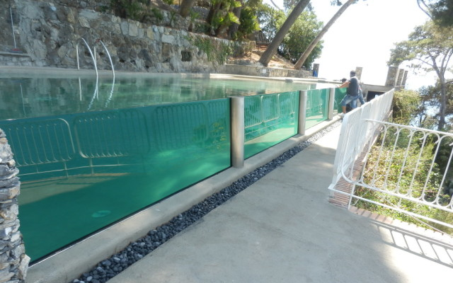 struttura acciaio per piscina