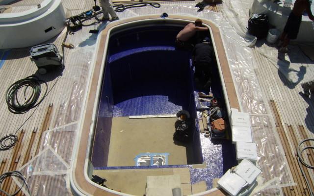 piscina ovale inox yacht